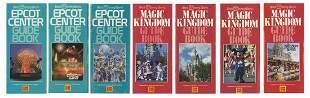 Collection of 7 Walt Disney World Kodak Guidebooks