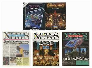 Walt Disney World News DisneyMGM Magazines