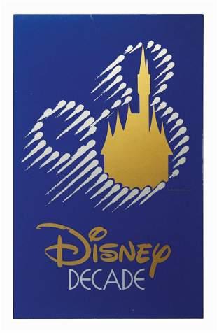 Disney Decade Sign