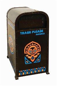 Polynesian Resort Trashcan.