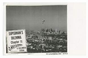 Superman's Dilemma Original Cel.