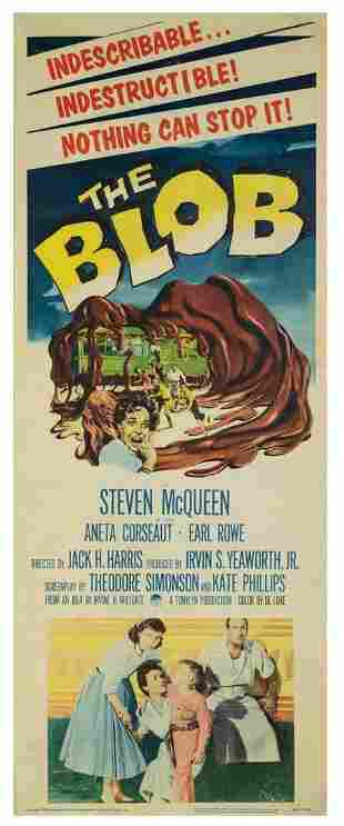 The Blob Insert Poster.