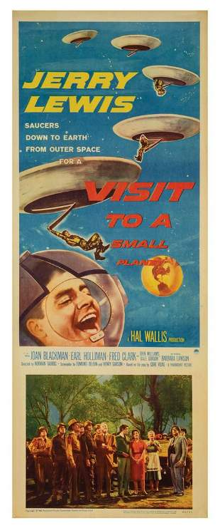 Visit to a Small Planet Insert Poster.