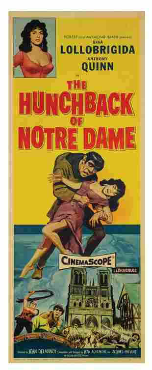 The Hunchback of Notre Dame Insert Poster.