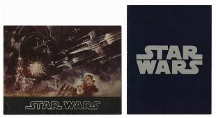Pair of Star Wars Programs.
