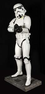 Star Wars Stormtrooper Life-Size Don Post Figure.
