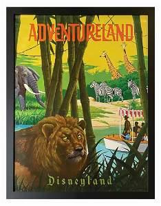 """Adventureland """"Near-Attraction"""" Poster."""