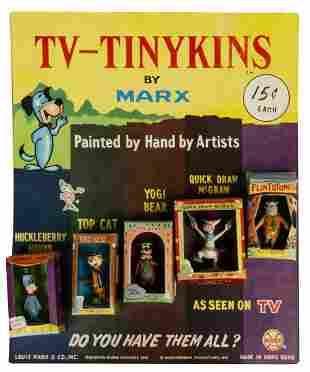 Hanna Barbera TV-Tinykins Store Display.