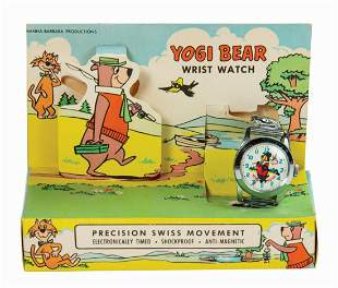 Yogi Bear Wrist Watch.