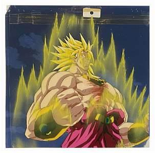 Dragon Ball Z: Broly Super Saiyan Transformation Cel.