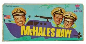 McHale's Navy Die-Cut Bubble Gum Card Display Box.