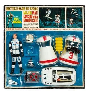 Major Matt Mason with Moon Suit Playset.