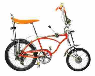 Schwinn Sting-Ray Orange Krate Bicycle.