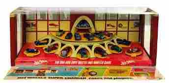 """Hot Wheels 1968 """"Sweet 16"""" Store Display."""