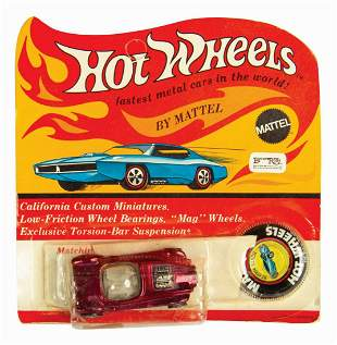 Hot Wheels Purple Beatnik Bandit on Card.
