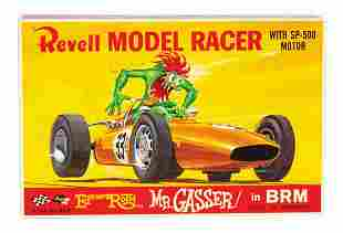 Mr. Gasser in BRM Big Daddy Roth Slot Car.
