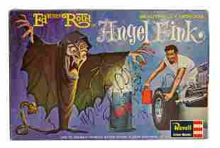 Signed Angel Fink Big Daddy Roth Model Kit.