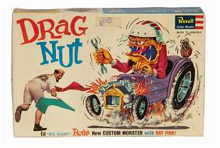Drag Nut Big Daddy Roth Model Kit.