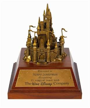 Walt Disney World Cast Member Cinderella Castle Award.
