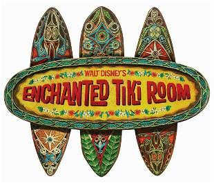 Enchanted Tiki Room Sign.