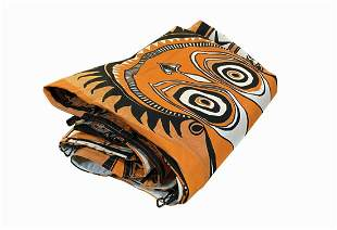 Enchanted Tiki Room Tribal Print Canopy.
