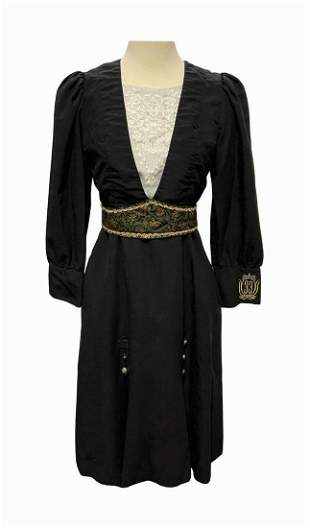 Club 33 Hostess Cast Member Dress and Belt.
