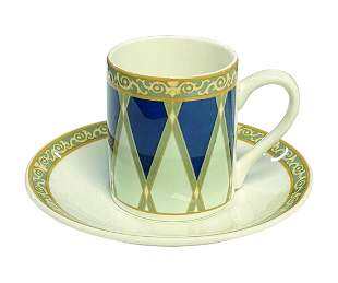 Club 33 Dudson Espresso Cup and Saucer.