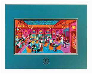 "Shag ""The Secret Salon"" Club 33 Exclusive Print."