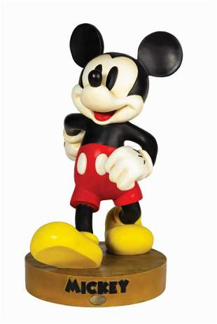 Mickey Mouse Big Fig Statue.