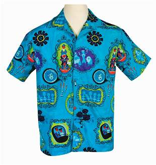 Shag Haunted Mansion 50th Anniversary Hawaiian Shirt.