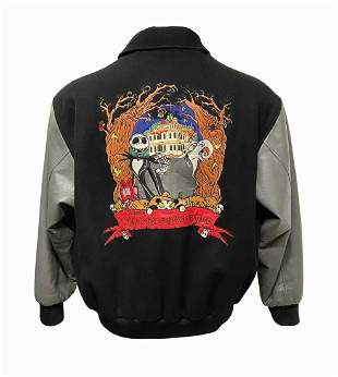 Nightmare Before Christmas Haunted Mansion Jacket.