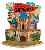 Disney Giftware Castle Store Display.