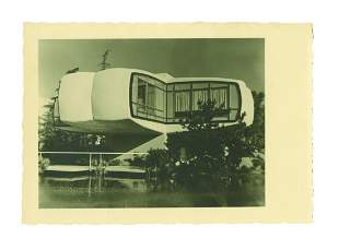 House of the Future Unreleased Prototype Postcard.