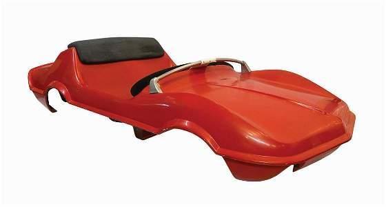 Original Mark VII Autopia Vehicle Body.