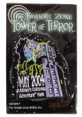 The Twilight Zone Tower of Terror Opening Day Patch.