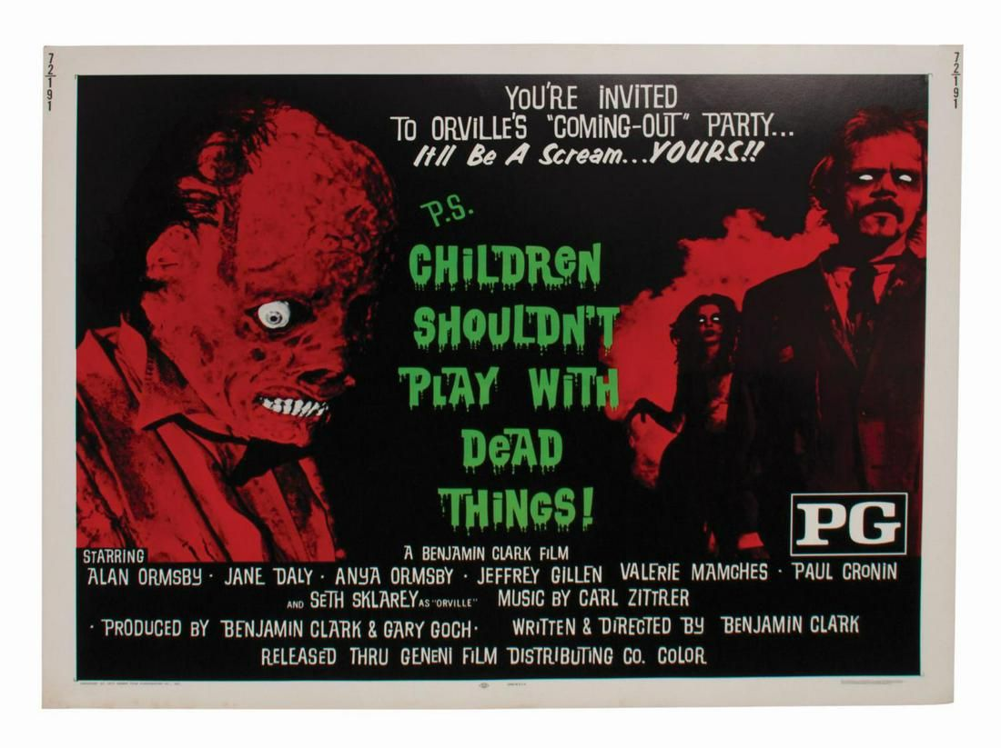 Children Shouldn't Play with Dead Things Half-Sheet