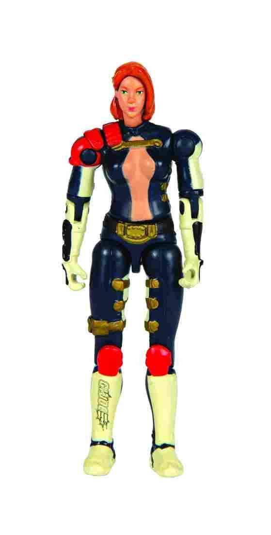Scarlett Color Test VSP G.I. Joe Action Figure.