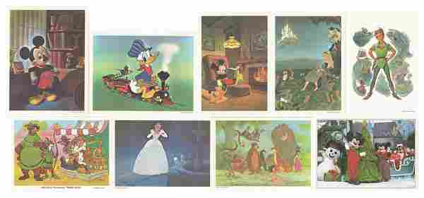 Set of (9) Guest Relations Fan Cards.