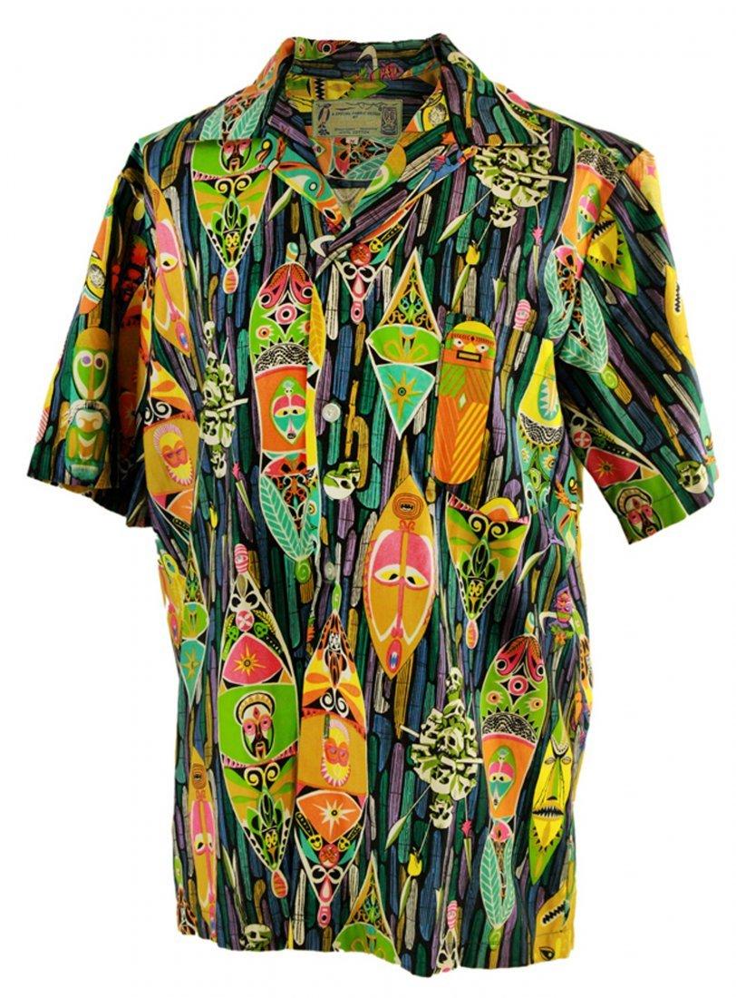 "Men's Vintage ""Enchanted Tiki Room"" Cast Member Shirt -"