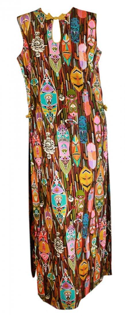 Vintage Enchanted Tiki Room Hostess Dress Pattern B