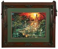 Indiana Jones Adventures Concept Art Lithograph by