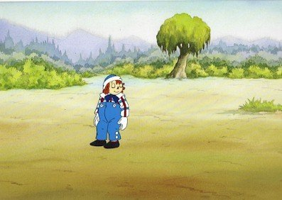 3001: Raggedy Ann Andy, Animation Cel 1990
