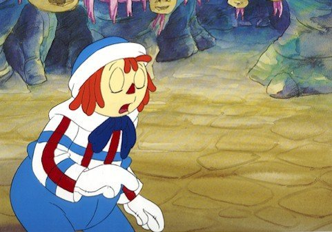 3002: Raggedy Ann Andy, Animation Cel 1990