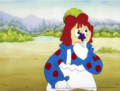 3003: Raggedy Ann, Animation Cel 1990