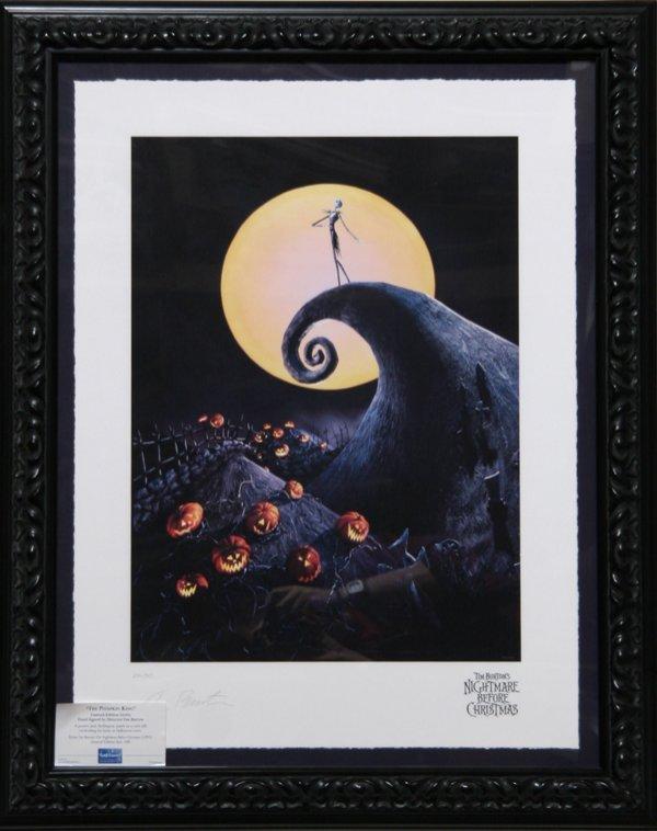 3006: Tim Burton, The Night Before Christmas, Giclee