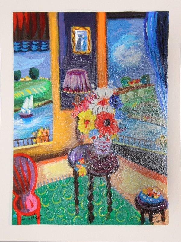 4003: Shloma Alter, Living Room, Serigraph
