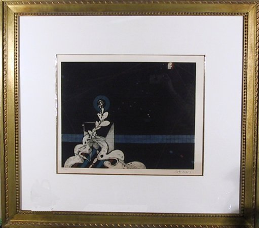 4005: Araki, Japanese Minimilist, Lithograph