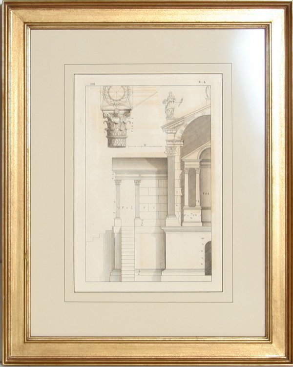 4006: Architectural Engraving, 19th Century