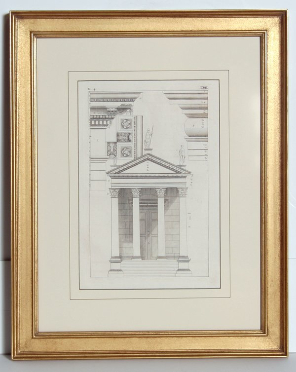 4008: Architectural Engraving, 19th Century