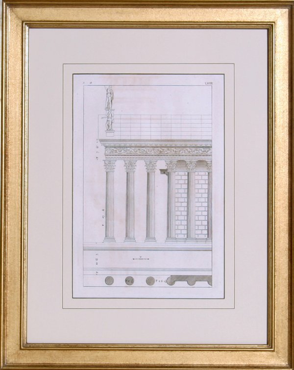 4009: Architectural Engraving, 19th Century